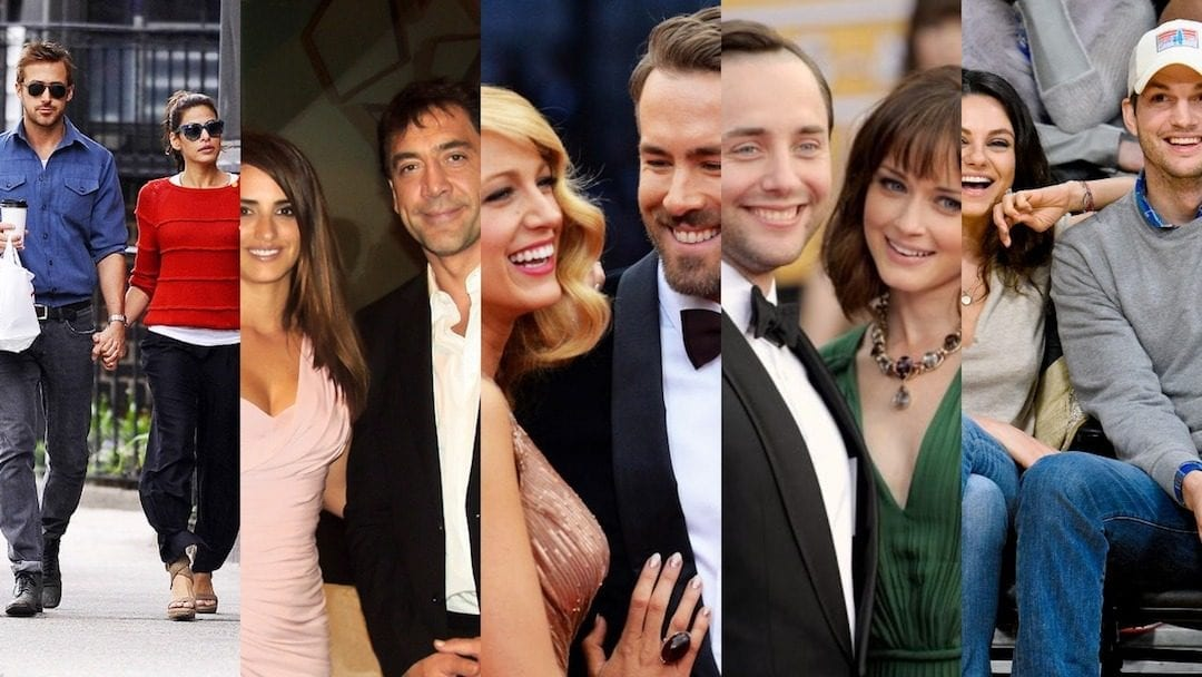 5 Famous Couples Who Met on Set
